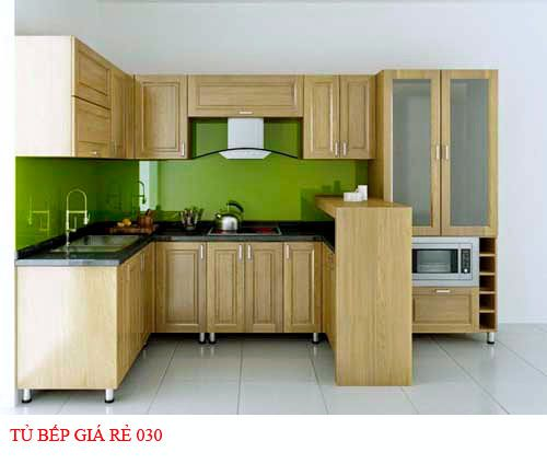 Tủ bếp giá rẻ 030