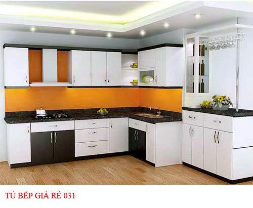 Tủ bếp giá rẻ 031