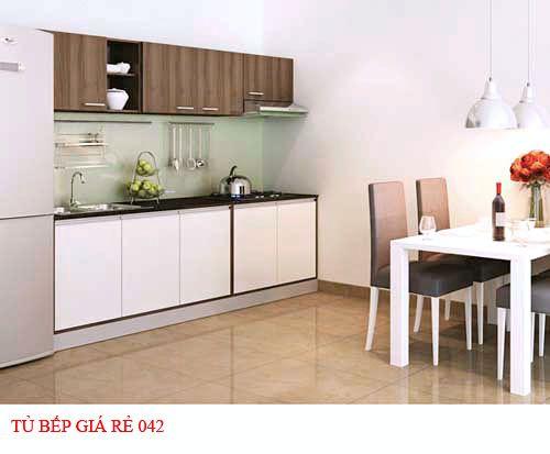 Tủ bếp giá rẻ 042