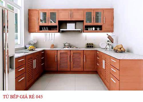 Tủ bếp giá rẻ 045