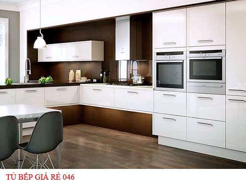 Tủ bếp giá rẻ 046