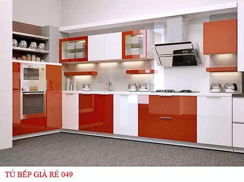 Tủ bếp giá rẻ 049