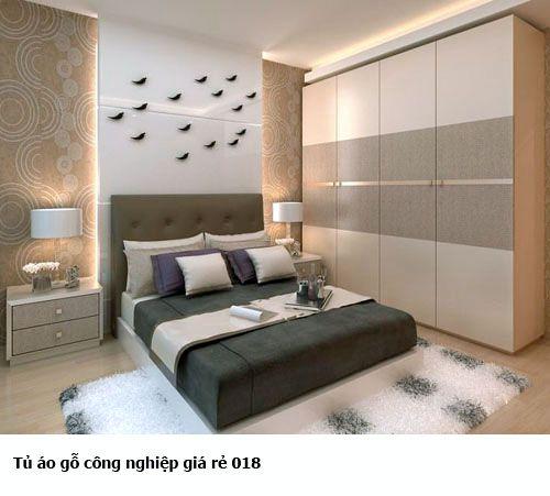 Tủ quần áo gỗ công nghiệp 018