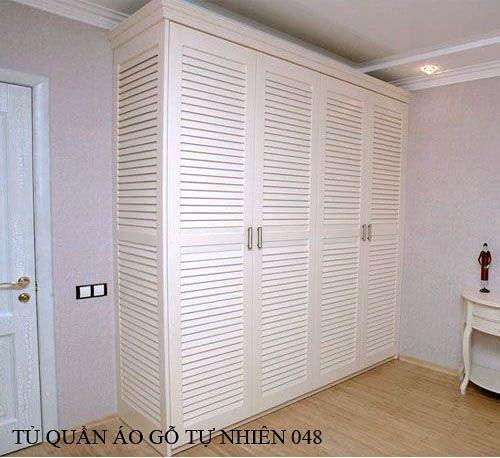 Tủ quần áo gỗ tự nhiên 048