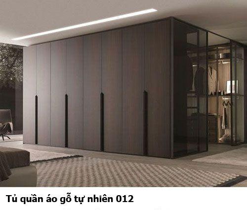 Tủ quần áo gỗ tự nhiên giá rẻ 012