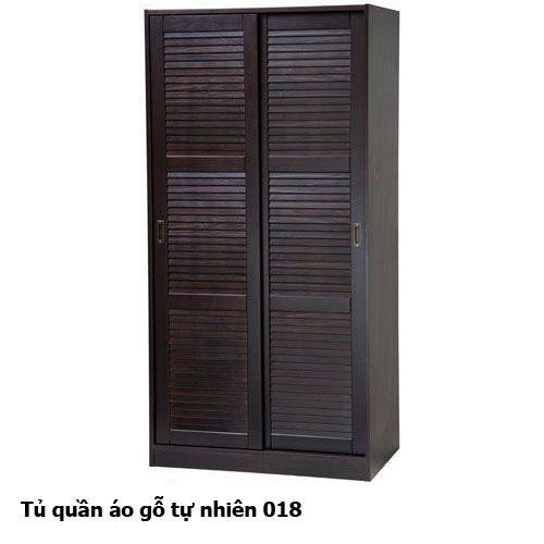 Tủ quần áo gỗ tự nhiên giá rẻ 018