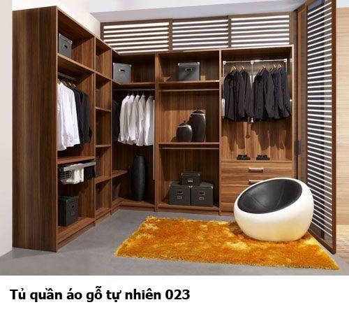 Tủ quần áo gỗ tự nhiên giá rẻ 023
