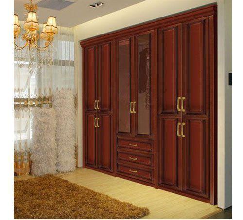 Tủ quần áo gỗ tự nhiên giá rẻ 050