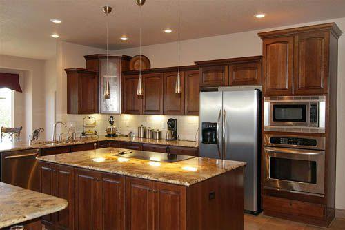 tủ bếp gỗ tự nhiên giá rẻ 029