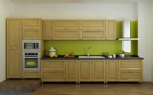Kệ bếp gỗ tự nhiên 052
