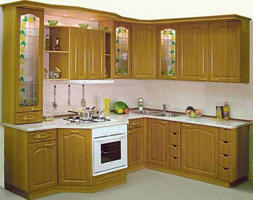 Kệ bếp gỗ tự nhiên 053