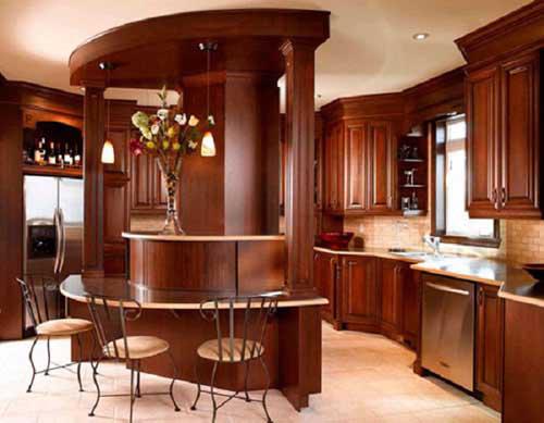 Kệ bếp gỗ tự nhiên 068