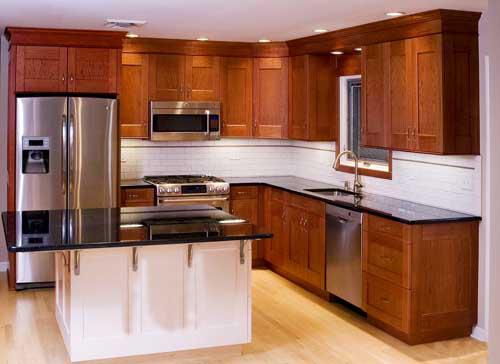 Kệ bếp gỗ tự nhiên 072