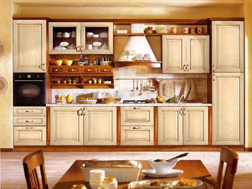Kệ bếp gỗ tự nhiên 082