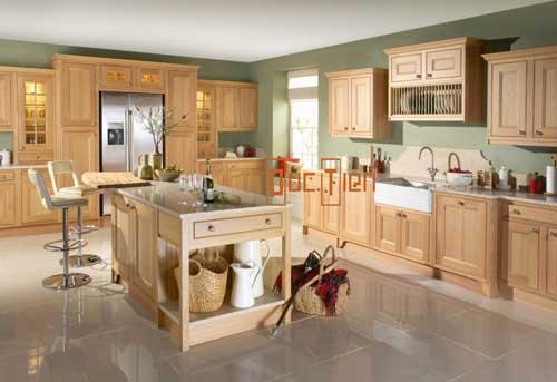 Kệ bếp gỗ tự nhiên 092