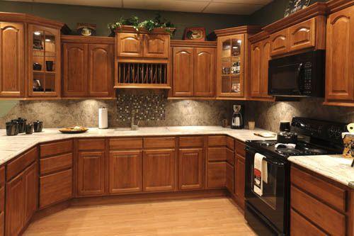 Tủ bếp gỗ tự nhiên 001
