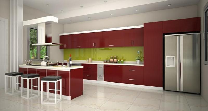 Nội thất nhà bếp rẻ đẹp - thiết kế hoàn toàn miễn phí khi đặt hàng