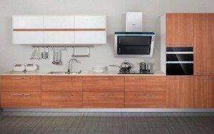Tủ Bếp Gỗ Công Nghiệp 033C