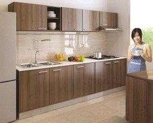 Tủ Bếp Gỗ Công Nghiệp 051C
