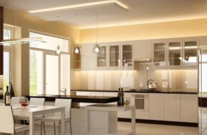 Tủ Bếp Gỗ Rẻ Đẹp 007D