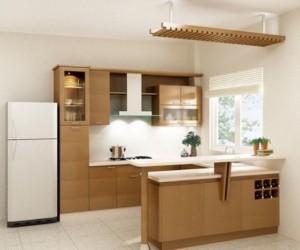 Tủ Bếp Gỗ Rẻ Đẹp 008D