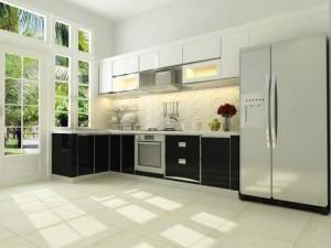Tủ Bếp Gỗ Rẻ Đẹp 010D