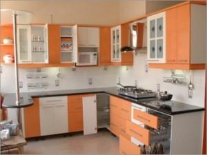 Tủ Bếp Gỗ Rẻ Đẹp 012D
