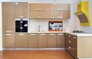 Tủ Bếp Gỗ Rẻ Đẹp 014D