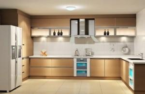 Tủ Bếp Gỗ Rẻ Đẹp 016D