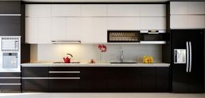 Tủ Bếp Gỗ Rẻ Đẹp 017D