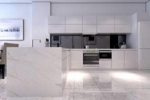 Tủ Bếp Gỗ Rẻ Đẹp 018D