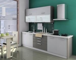 Tủ Bếp Gỗ Rẻ Đẹp 021D