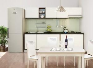 Tủ Bếp Gỗ Rẻ Đẹp 024D