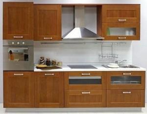 Tủ Bếp Gỗ Rẻ Đẹp 025D