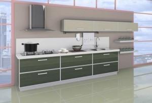 Tủ Bếp Gỗ Rẻ Đẹp 029D