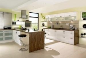 Tủ Bếp Gỗ Rẻ Đẹp 035D