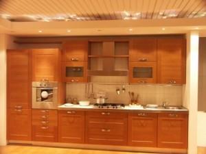 Tủ Bếp Gỗ Rẻ Đẹp 042D