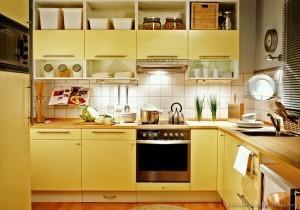 Tủ Bếp Gỗ Rẻ Đẹp 043D