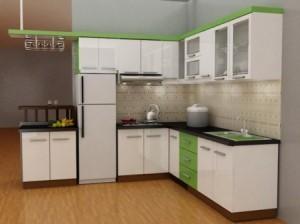 Tủ Bếp Gỗ Rẻ Đẹp 044D