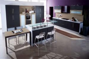 Tủ Bếp Gỗ Rẻ Đẹp 051D