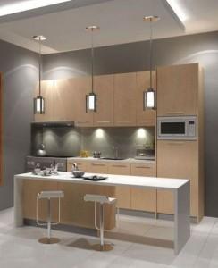 Tủ Bếp Gỗ Rẻ Đẹp 052D