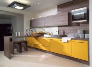 Tủ Bếp Gỗ Rẻ Đẹp 056D