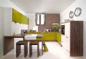 Tủ Bếp Gỗ Rẻ Đẹp 057D