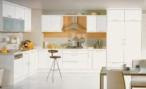 Tủ Bếp Gỗ Rẻ Đẹp 058D