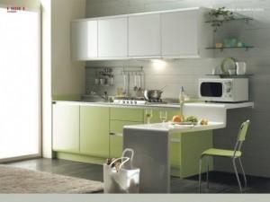 Tủ Bếp Gỗ Rẻ Đẹp 064D