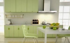 Tủ Bếp Gỗ Rẻ Đẹp 066D