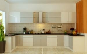 Tủ Bếp Gỗ Rẻ Đẹp 071D