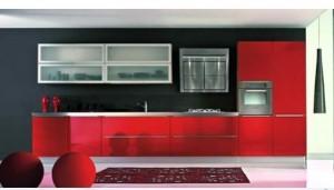 Tủ Bếp Gỗ Rẻ Đẹp 073D