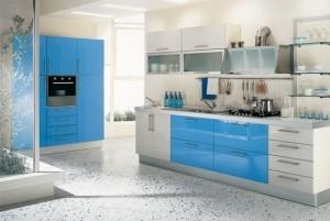 Tủ Bếp Gỗ Rẻ Đẹp 078D