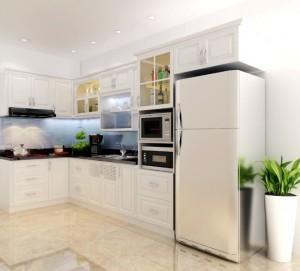 Tủ Bếp Gỗ Rẻ Đẹp 080D
